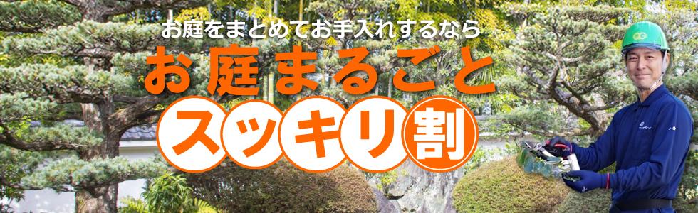 茨城県,お庭まるごとスッキリ割